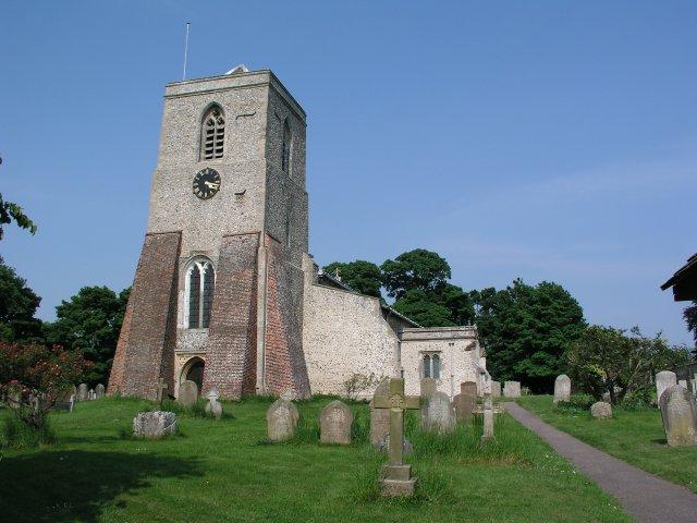 Sandon church