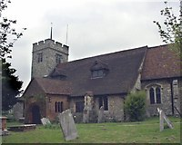 TQ3894 : Chingford, All Saints. by mym