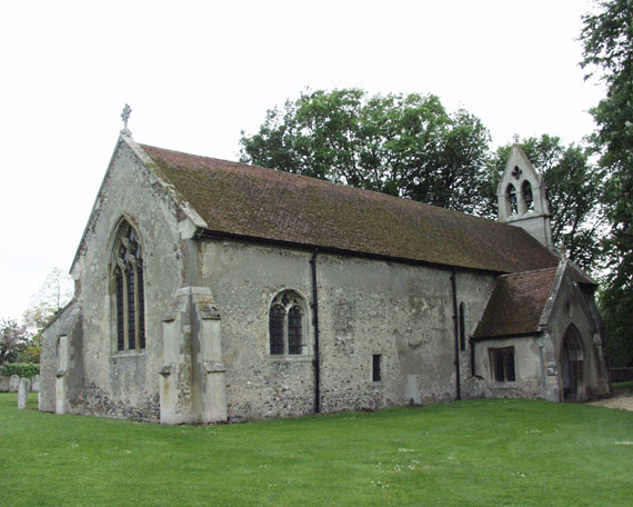 Little Chesterford church