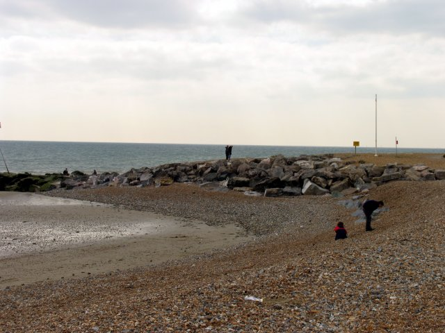 Beach at Goring- by- Sea