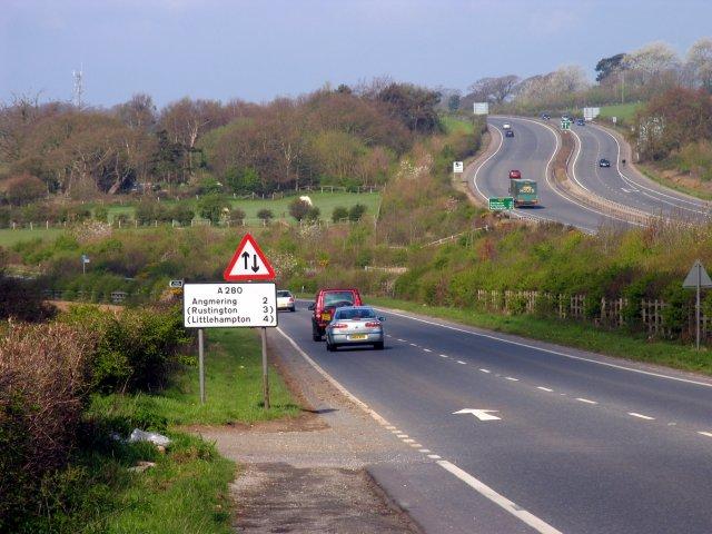A280 to Littlehampton