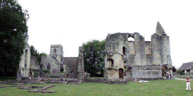 Minster Lovell ruins