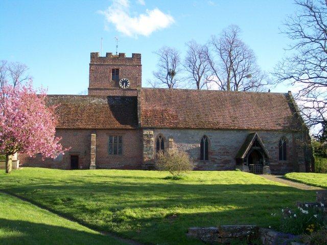 Hanley Castle Church
