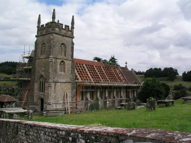 Horningsham church