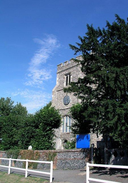 South Mimms church