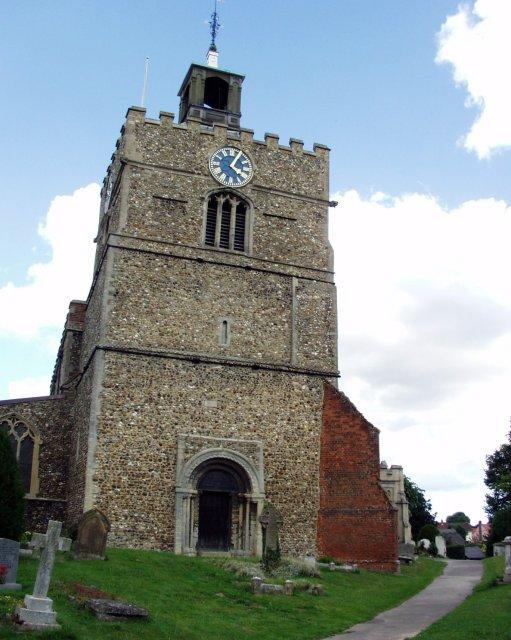 Finchingfield church