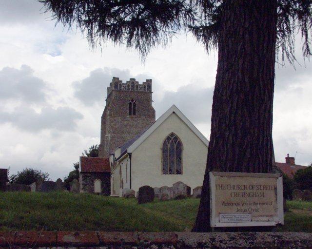 St Peter's, Cretingham