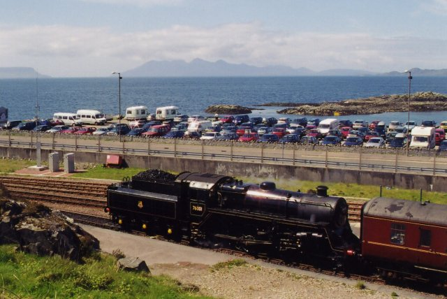 Steam Locomotive at Mallaig