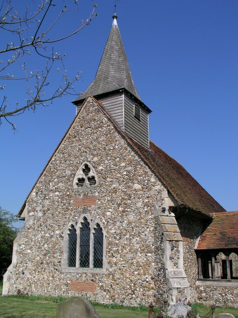 Leaden Roding church
