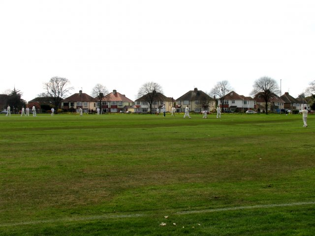 Broadwater West Sussex: Recreational Ground next to the Fire Station