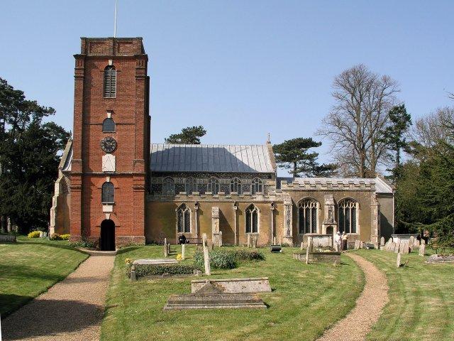 Grundisburgh church