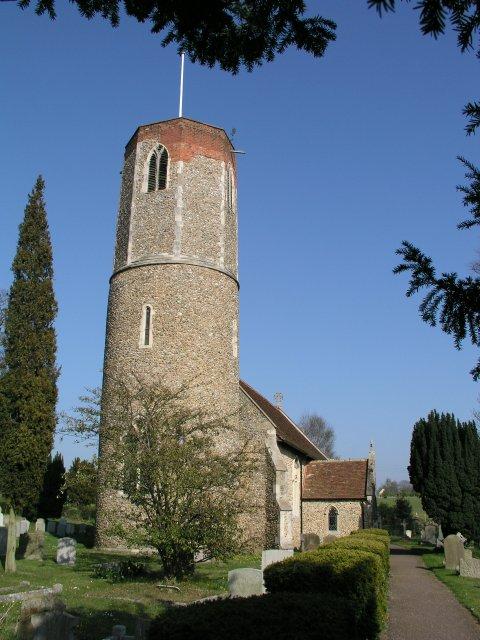 Hasketon church