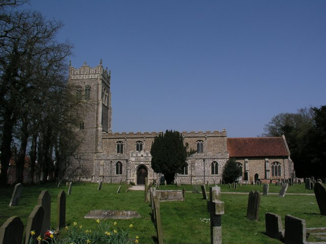 Mendlesham church