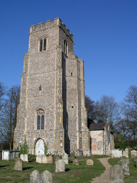 Rendlesham church