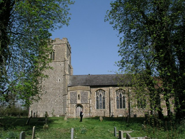 Wickham Skeith church