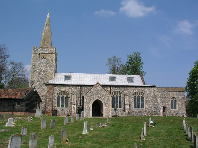 Polstead church