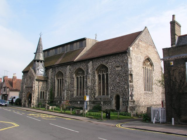 St. John Baptist church at Needham Market