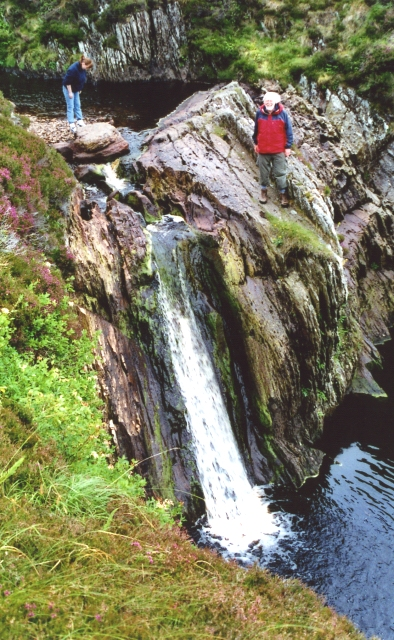 Waterfall on the Burn of Lunklet