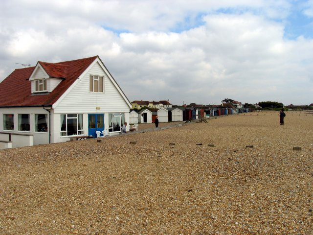 Bluebird Cafe and Beach Huts: West Sussex