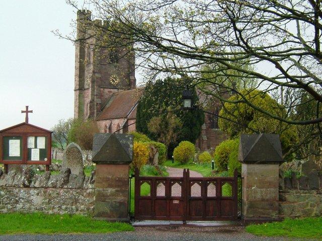 Stoke-on-Tern Church