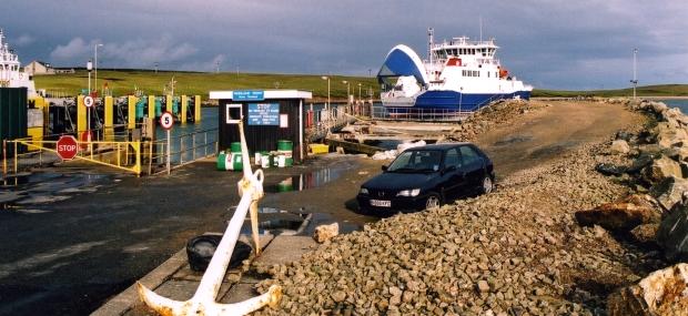 Ulsta Ferry Terminal, Yell