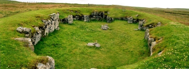 Staneydale Neolithic Temple