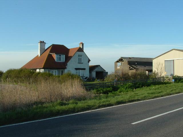 Jury's Gap farm, Romney Marsh, Kent