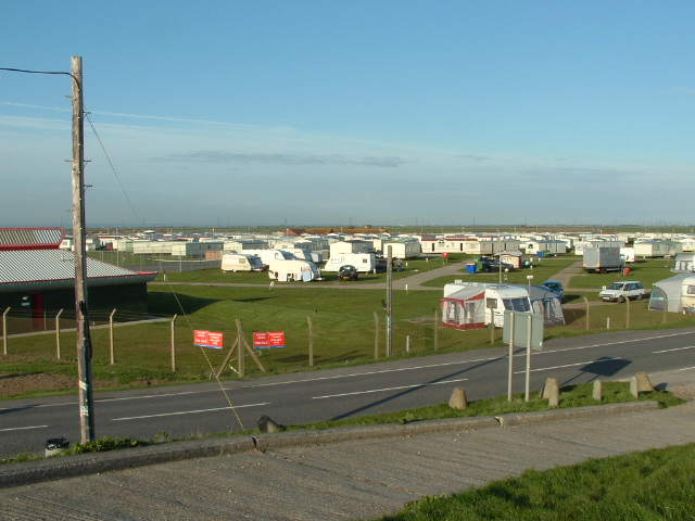 Camber Sands Caravan Park, Camber, East Sussex.