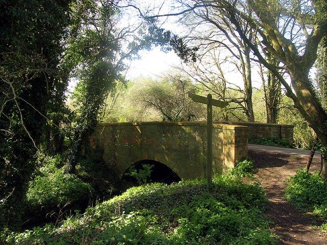 Oxford Bridge near Inwood Copse