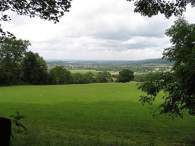 Countryside near Belas Knapp: Gloucestershire