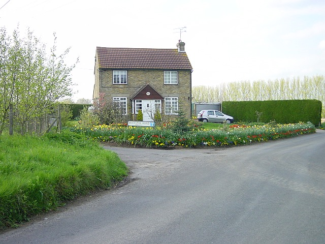 Road junction at Bistock