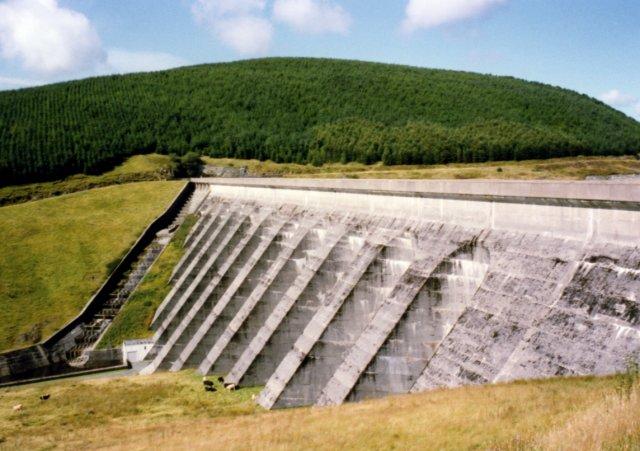 Nant-y-moch Dam