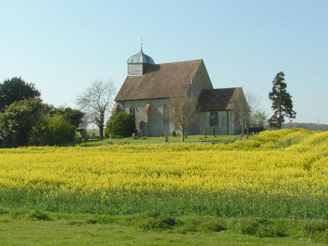 St. Rumwolds' Church, near Bonnington, Romney Marsh, Kent.