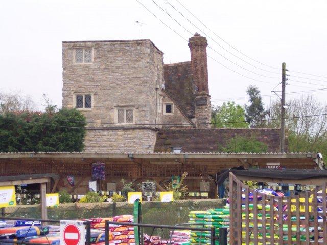 """""""King John's Castle"""" behind the Mythe Nurseries"""