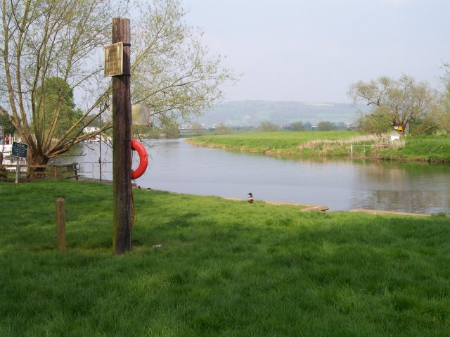 The Ferry River Crossing at The Fleet, Twyning