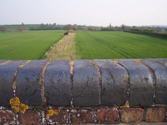 Track of dismantled railway, Saxons Lode