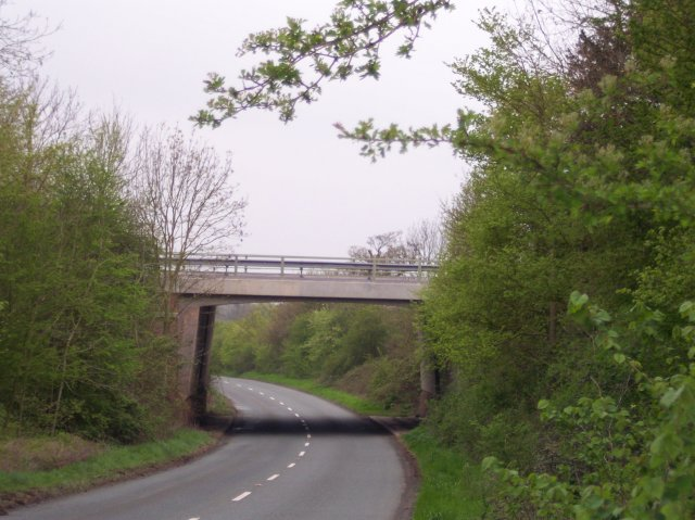 M50 Bridge over the Gloucester to Upton Turnpike