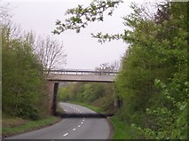 SO8435 : M50 Bridge over the Gloucester to Upton Turnpike by Bob Embleton