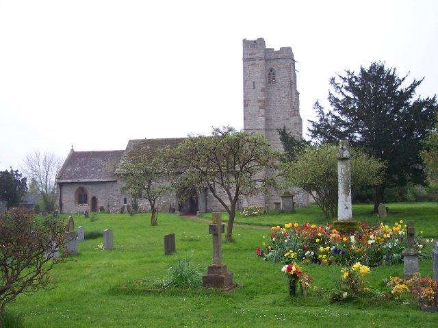 Berrow Church and Cross
