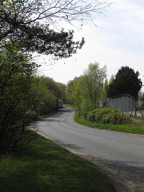 A General View near Aldermaston AWE