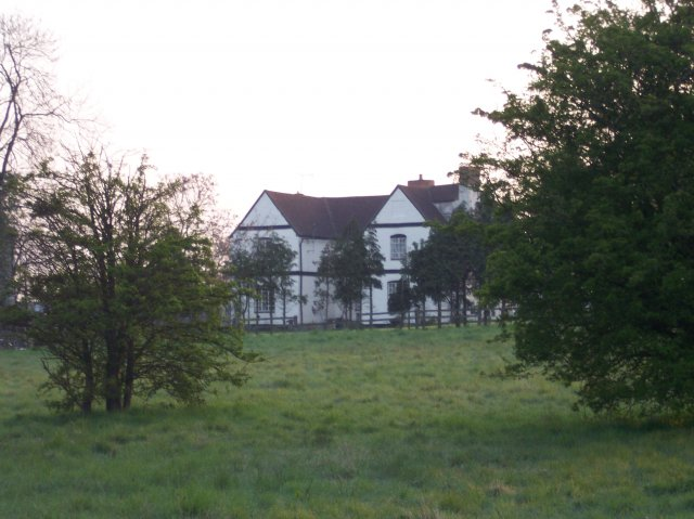 Brockeridge Farm over the common at Twyning Green