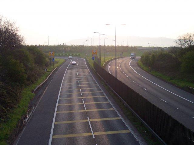 M50 / M5 interchange