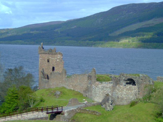 Urquhart Castle from A82