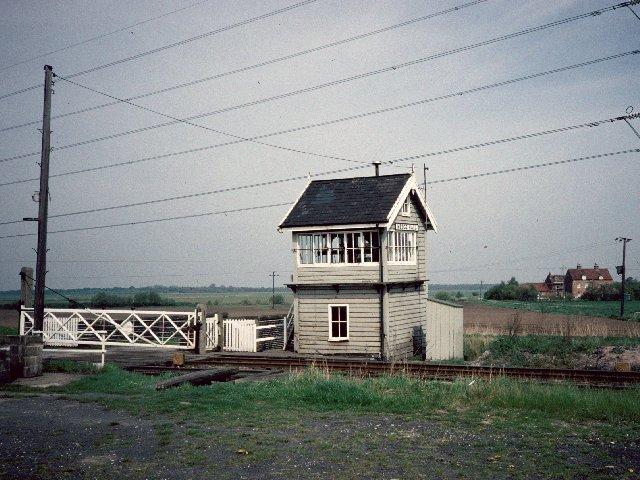 Medge Hall Signal Box