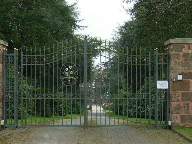 Broughton Hall Gates
