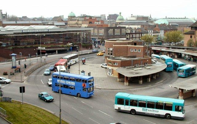 Derby Bus Station