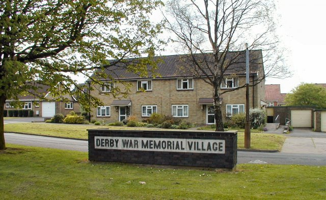 War Memorial Village, Allenton, Derby