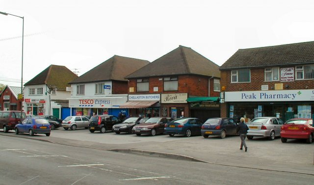 Shops at Chellaston, Derby