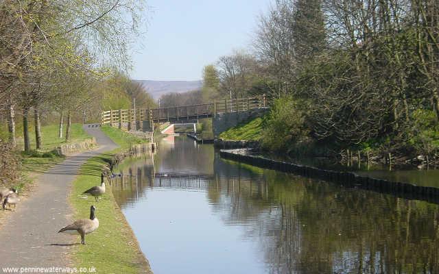 Rochdale Canal, Edinburgh Way, Rochdale