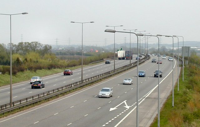 A50 looking East